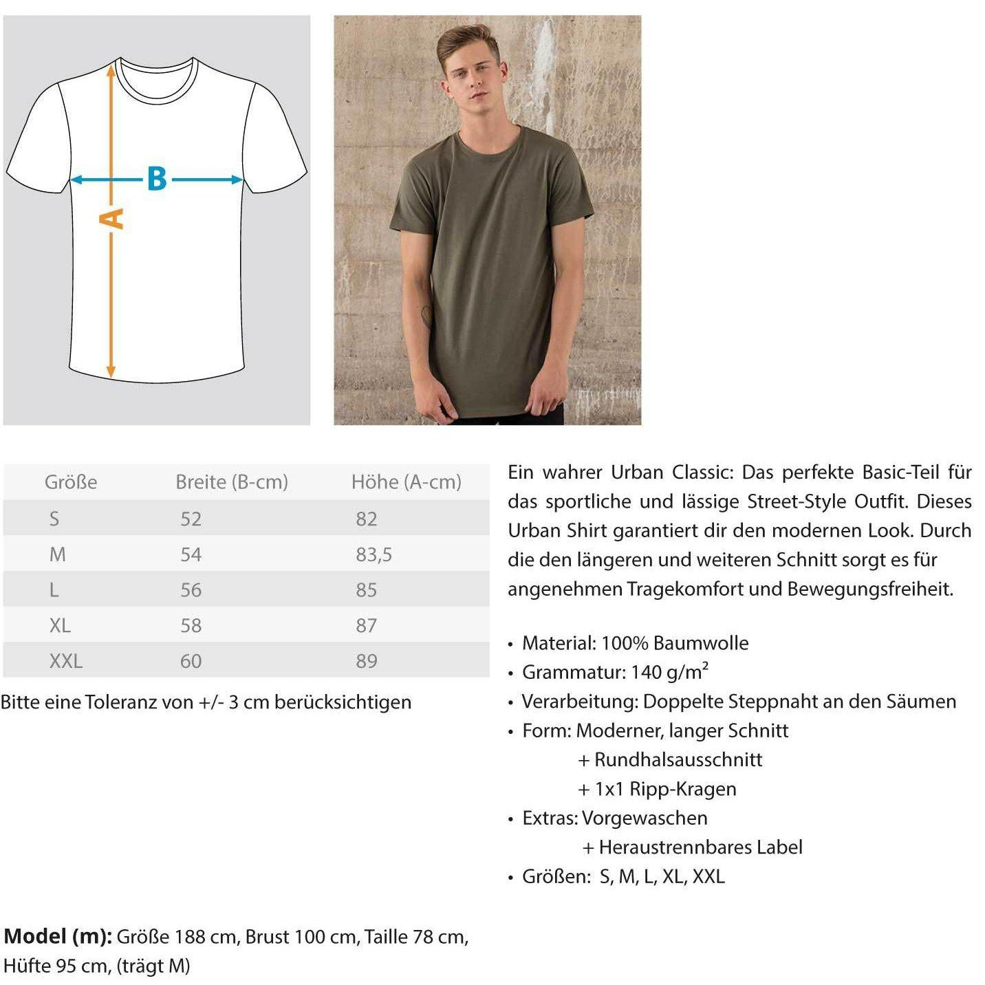 Techno Tempo White -Rave On!® - Herren Long Tee Men Long Tee - Rave On!® der Club & Techno Szene Shop für Coole Junge Mode Streetwear Style & Fashion Outfits + Sexy Festival 420 Stuff
