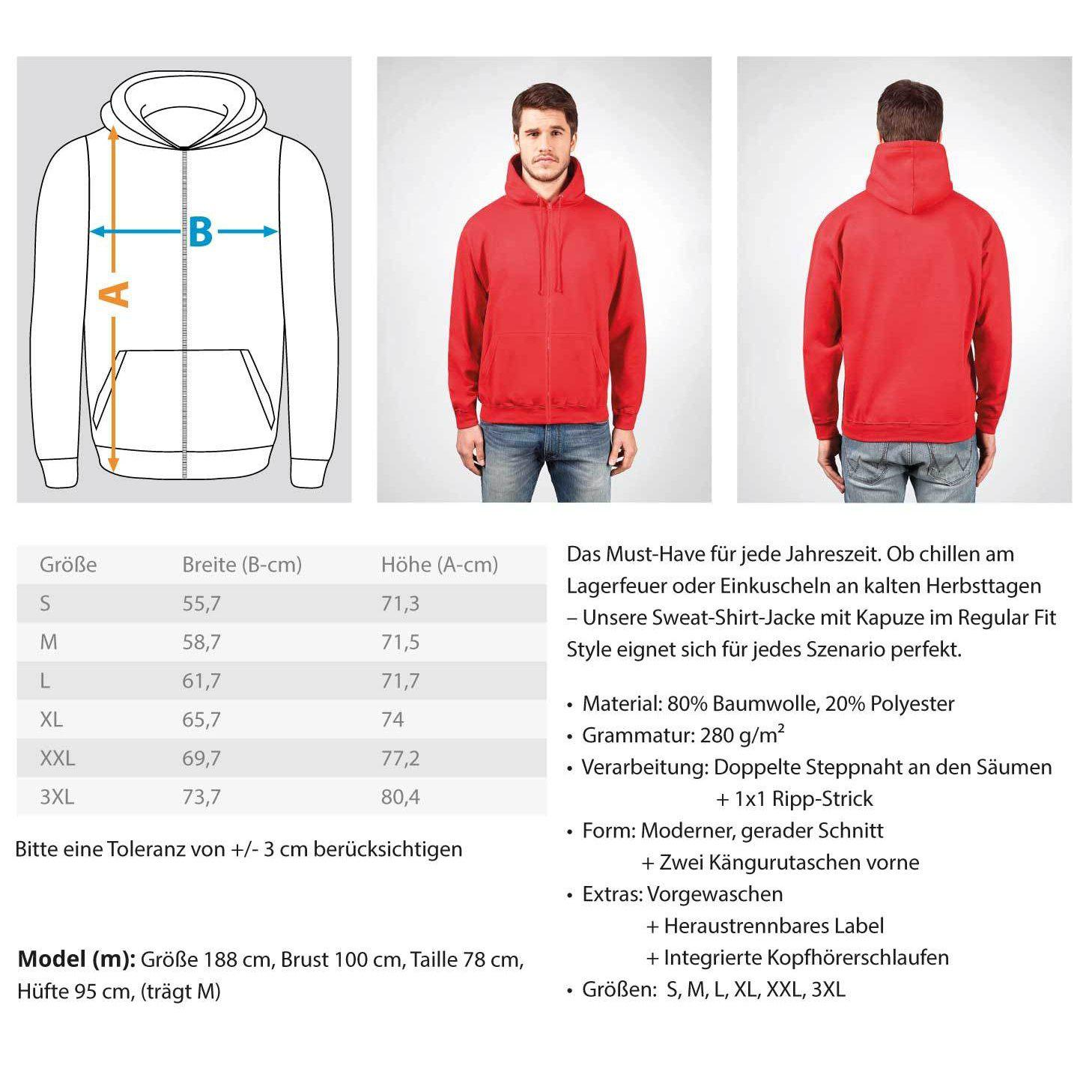 Rave On!® - Made On Planet Earth B2k20 - Zip-Hoodie ZipperB - Rave On!® der Club & Techno Szene Shop für Coole Junge Mode Streetwear Style & Fashion Outfits + Sexy Festival 420 Stuff