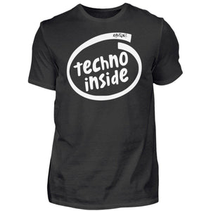 """TECHNO INSIDE"" T-Shirt-Black-S-Rave-On! I www.rave-on.shop I Deine Rave & Techno Szene Shop I black, cheap rave clothes, inside, intel, rave, rave attire, rave clothes, Rave Clothing, rave fashion, rave gear, rave outfit, rave outfits, rave shop, rave wear, shirt, shirts, t-shirt, techno, techno apparel, techno meme, techno quote, techno shirt, techno wear, technogirl, technoguy, technoquote, technoshirt, technospruch, tshirt - Sexy Festival Streetwear , Clubwear & Raver Style"
