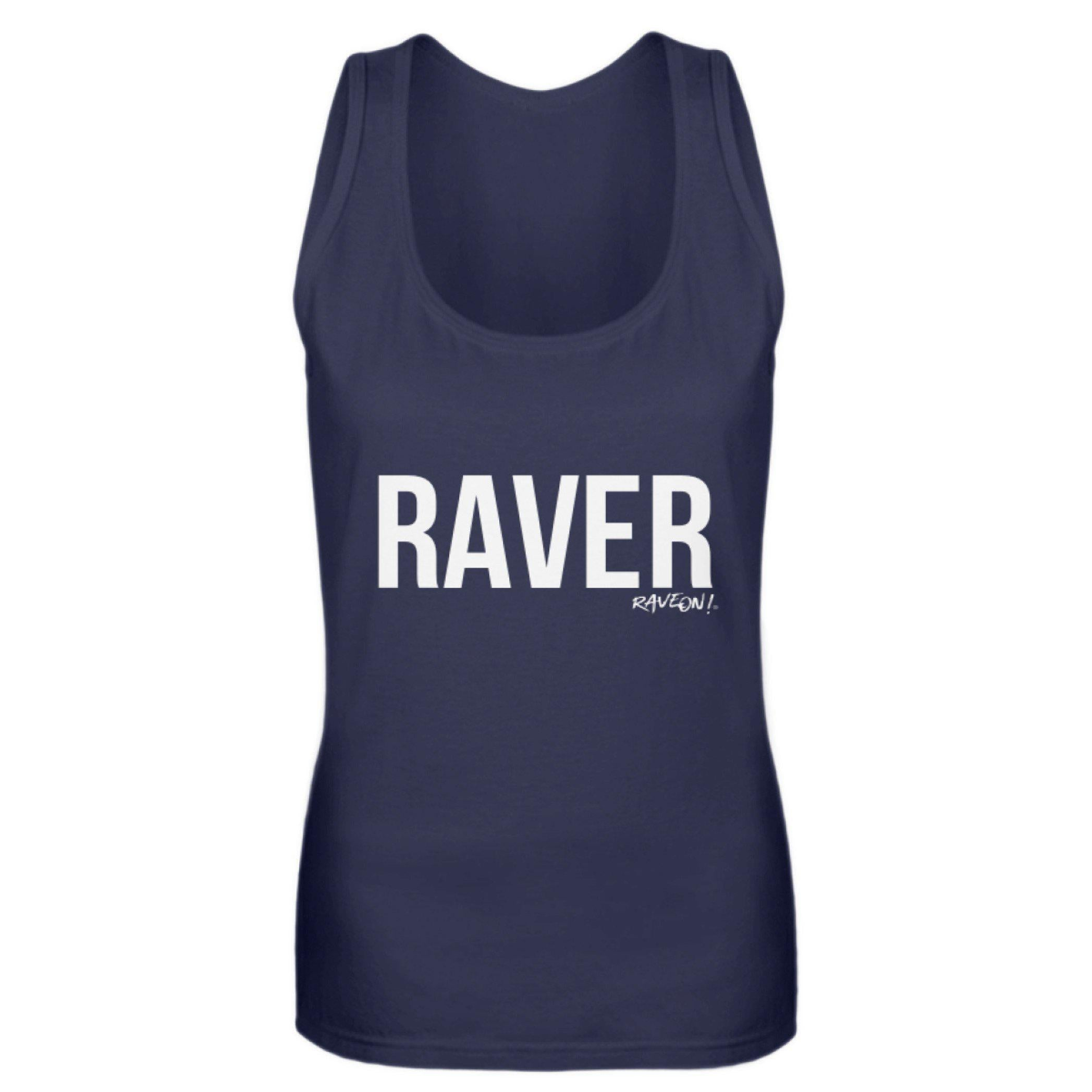 RAVER Girls Tanktop by Rave On!® Damen Tank-Top - Rave On!® der Club & Techno Szene Shop für Coole Junge Mode Streetwear Style & Fashion Outfits + Sexy Festival 420 Stuff