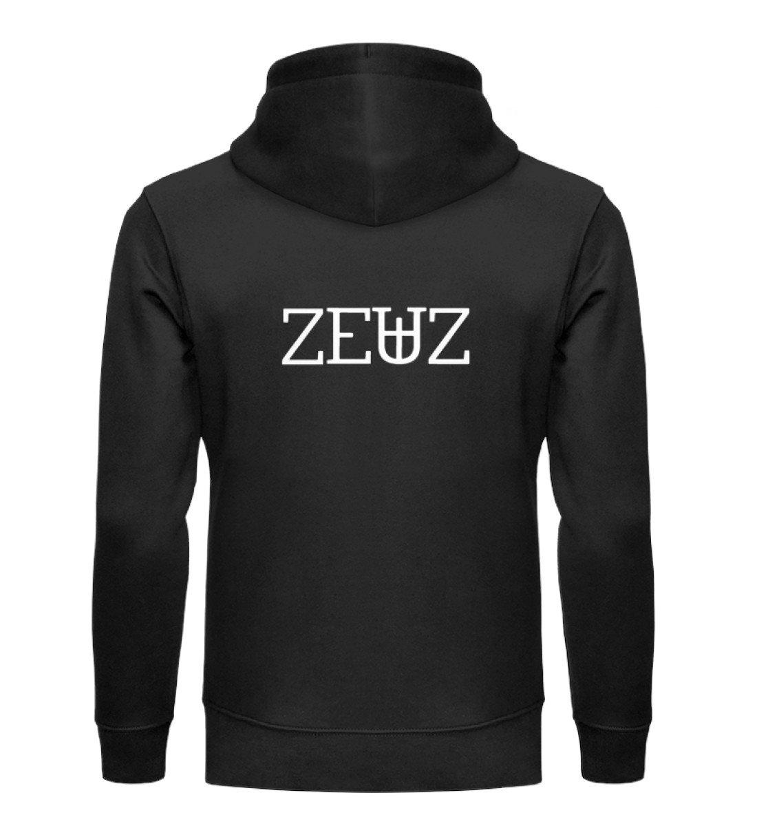 ZEUZ RAVE-ON! ®️ BLACK UNISEX HOODIE - Unisex Organic Hoodie Cruiser Hoodie ST/ST Black / S - Rave On!® der Club & Techno Szene Shop für Coole Junge Mode Streetwear Style & Fashion Outfits + Sexy Festival 420 Stuff