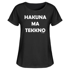 Ha kuna Ma Tekkno - Rave On!®  - Damen RollUp Shirt