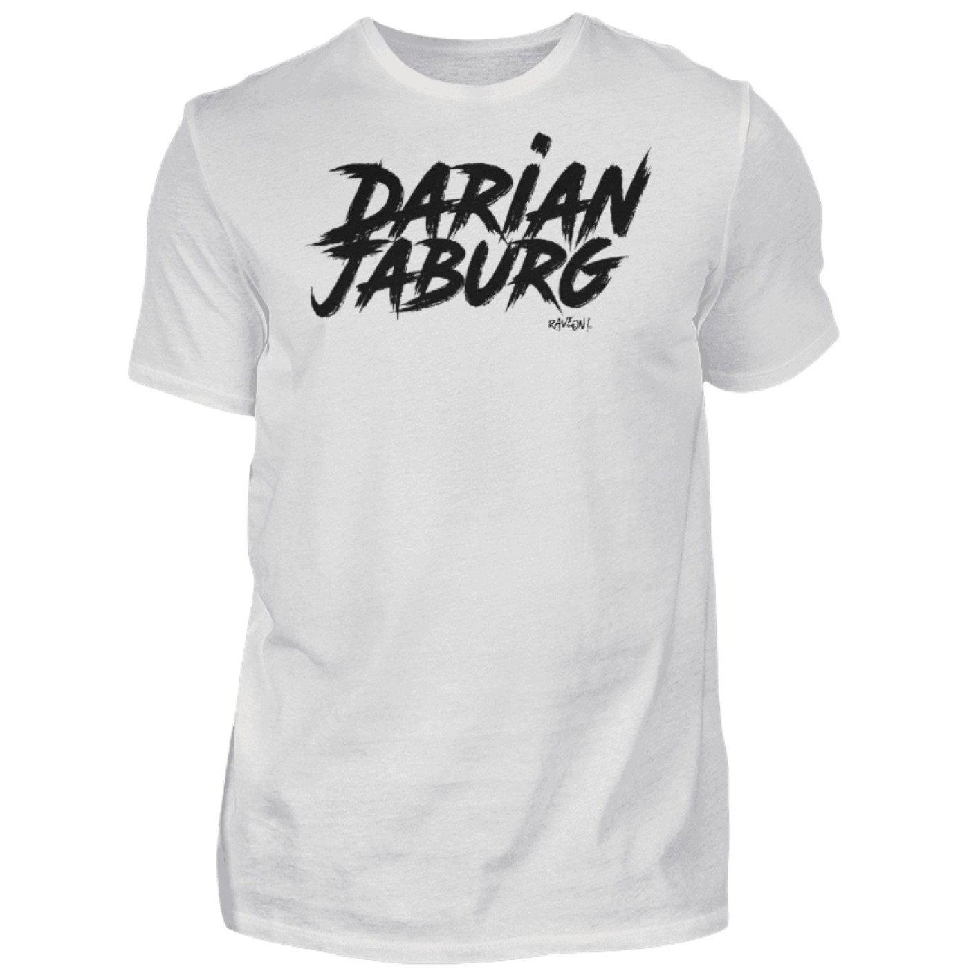 Darian Jaburg - BS Rec.White - Rave On!® - Herren Premiumshirt Herren Premium Shirt Ash (Heather) / S - Rave On!® der Club & Techno Szene Shop für Coole Junge Mode Streetwear Style & Fashion Outfits + Sexy Festival 420 Stuff