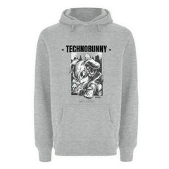 TECHNOBUNNY - Not Cute! - Rave On!®  - Unisex Premium Kapuzenpullover