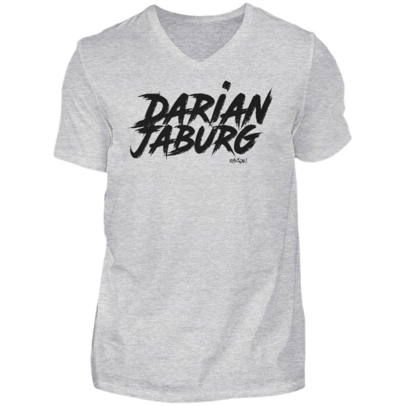 Darian Jaburg - BS Rec.White - Rave On!® - Herren V-Neck Shirt V-Neck Herrenshirt Sport Grey (Heather) / S - Rave On!® der Club & Techno Szene Shop für Coole Junge Mode Streetwear Style & Fashion Outfits + Sexy Festival 420 Stuff