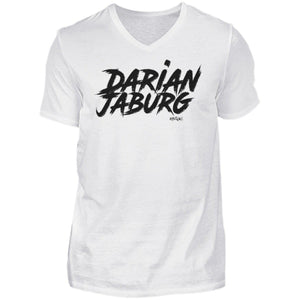 Darian Jaburg - BS Rec.White - Rave On!® - Herren V-Neck Shirt-V-Neck Herrenshirt-White-S-Rave-On! I www.rave-on.shop I Deine Rave & Techno Szene Shop I black, Darian, Design - Darian Jaburg - BS Rec.White - Rave On!®, jaburg, on, rave, recordings, snake, techno - Sexy Festival Streetwear , Clubwear & Raver Style