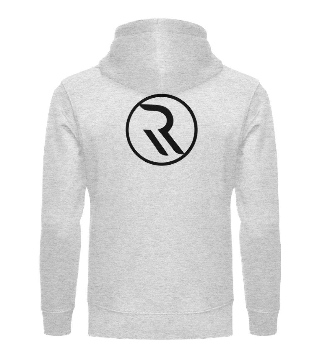 ROPEMAKER RAVE-ON!®️ GREY UNISEX HOODIE - Unisex Organic Hoodie Cruiser Hoodie ST/ST Heather Grey / S - Rave On!® der Club & Techno Szene Shop für Coole Junge Mode Streetwear Style & Fashion Outfits + Sexy Festival 420 Stuff
