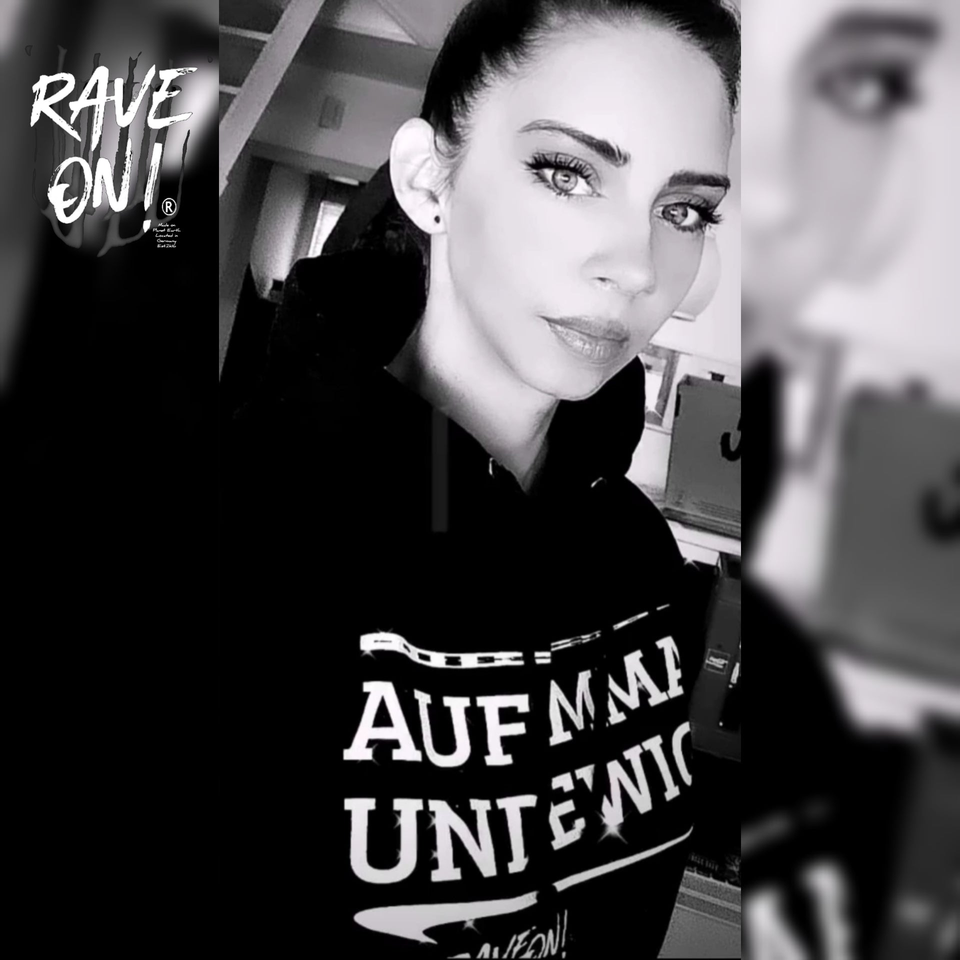 FOR EMMA AND FOREVER - Rave On!® - Unisex Hooded Sweater Hoodie Unisex Hoodie - Rave On!® the club & techno scene shop for cool young fashion streetwear style & fashion outfits + sexy festival 420 stuff