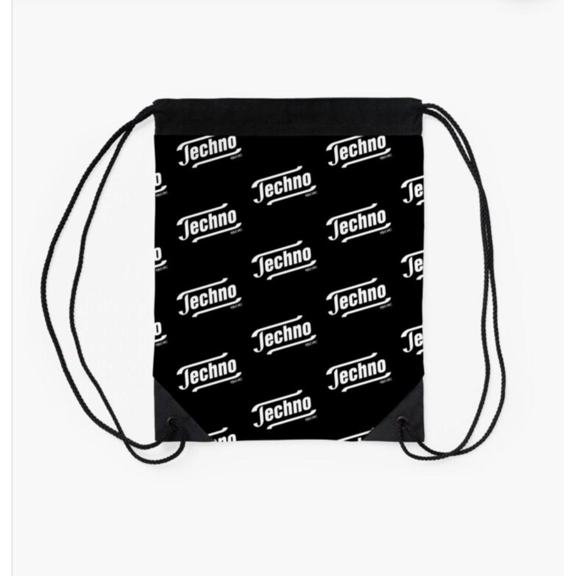Techno Tempo Gym Bag - Rave On!® bag - Rave On!® the club & techno scene shop for cool young fashion streetwear style & fashion outfits + sexy festival 420 stuff