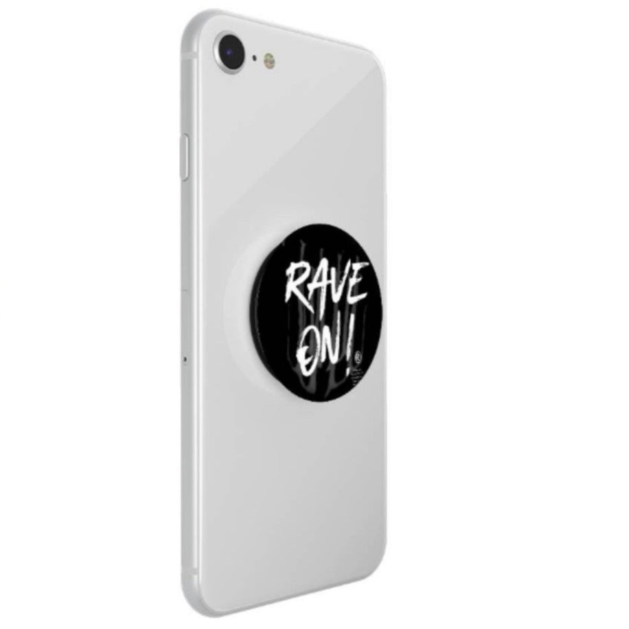 Rave On!® Mobile Grip Pop Socket-Mobile Phone Case-Rave-On! I www.rave-on.shop I Deine Rave & Techno Szene Shop I apple, handy, huawei, i phone, iphone, mobile, mobile cas, mobile case, mobile cases, phone, phone case, pop, pop-socket, popsocket, rave on!, Rave On!®, samsung, samsung galaxy, socket - Sexy Festival Streetwear , Clubwear & Raver Style