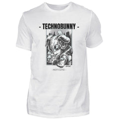 TECHNOBUNNY - Not Cute! - Rave On!®  - Herren Shirt