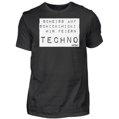 Schickimicki Techno - Rave On!®  - Herren Shirt