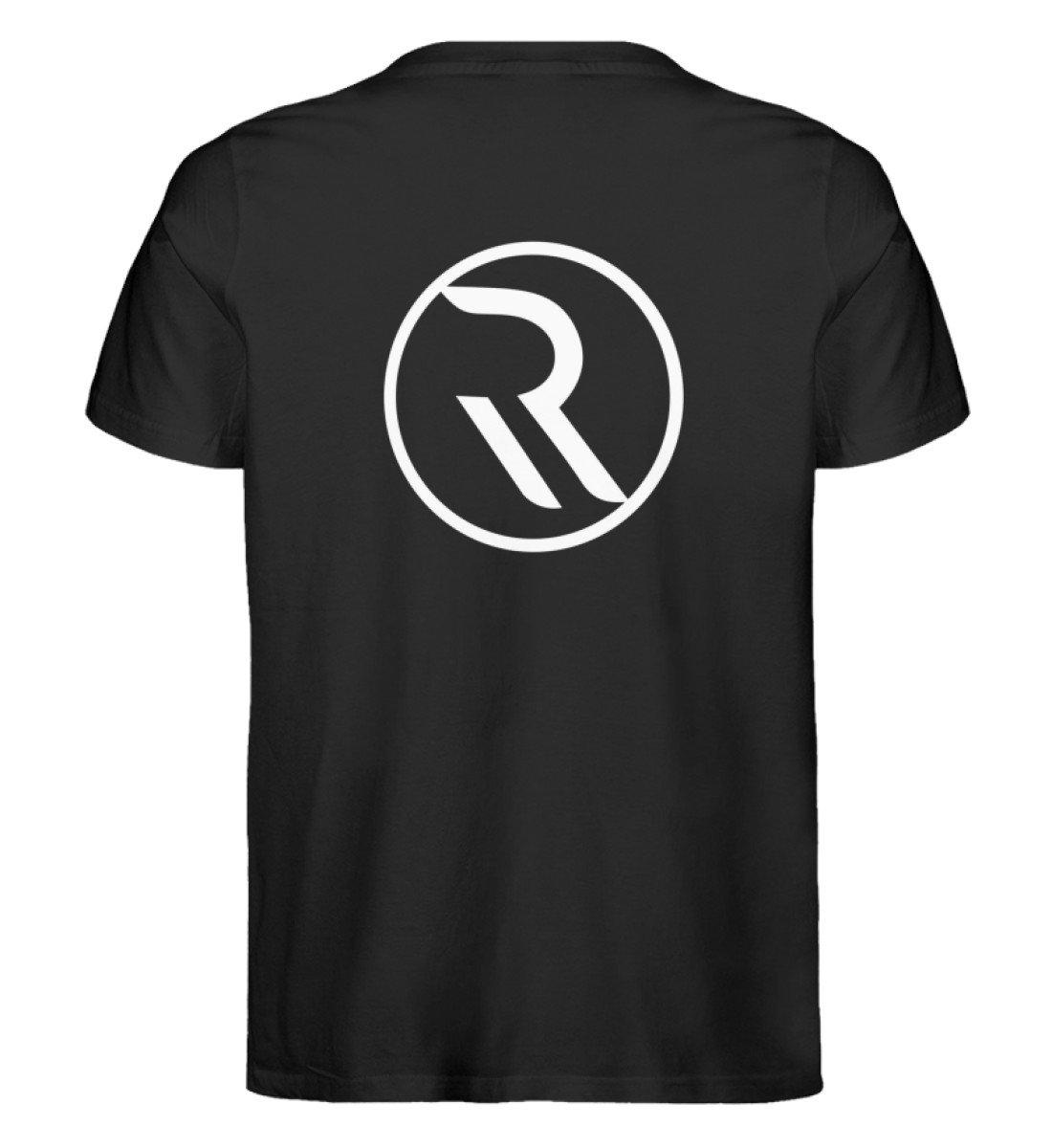 ROPEMAKER RAVE-ON!®️ BLACK T-SHIRT - Herren Premium Organic Shirt Creator T-Shirt ST/ST Black / S - Rave On!® der Club & Techno Szene Shop für Coole Junge Mode Streetwear Style & Fashion Outfits + Sexy Festival 420 Stuff