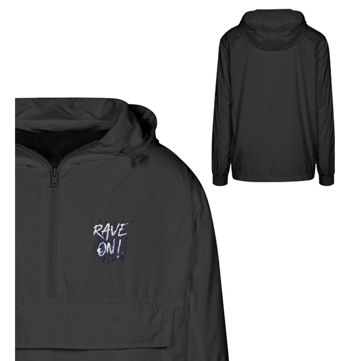 Rave On!® - B2k16 Urban Windbreaker mit Stick Urban Windbreaker mit Stick S - Rave On!® der Club & Techno Szene Shop für Coole Junge Mode Streetwear Style & Fashion Outfits + Sexy Festival 420 Stuff