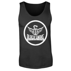 Black Snake Recordings Collection - Herren Tanktop-Herren Tank-Top-Rave-On! I www.rave-on.shop I Deine Rave & Techno Szene Shop I black, exclusive, label, Merch, rave, Rave Clothing, rave fashion, rave shop, recordings, snake, techno, techno apparel - Sexy Festival Streetwear , Clubwear & Raver Style