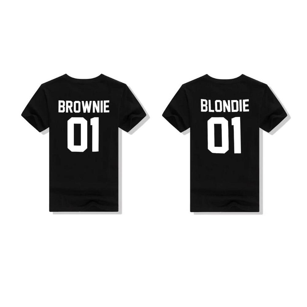 Brownie & Blondie Friends T-Shirt T-Shirt - Rave On!® der Club & Techno Szene Shop für Coole Junge Mode Streetwear Style & Fashion Outfits + Sexy Festival 420 Stuff