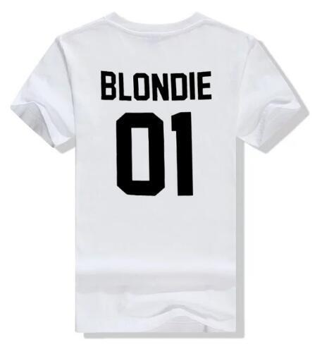 Brownie & Blondie Friends T-Shirt T-Shirt blondie -- white / S - Rave On!® der Club & Techno Szene Shop für Coole Junge Mode Streetwear Style & Fashion Outfits + Sexy Festival 420 Stuff