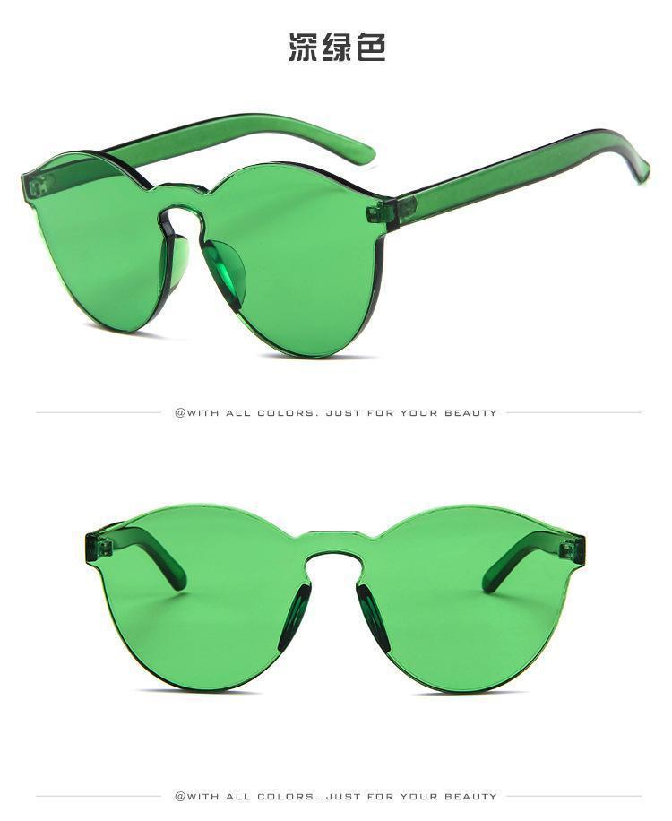 Sunglasses Candy Color Transparent - Rave On!® the club & techno scene shop for cool young fashion streetwear style & fashion outfits + sexy festival 420 stuff