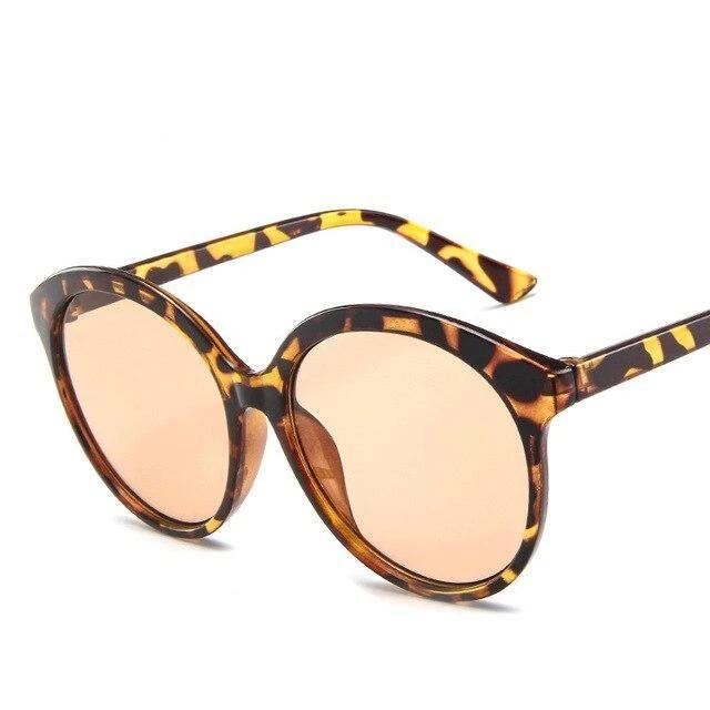 Sunglasses candy color oversize vintage leopard - Rave On!® the club & techno scene shop for cool young fashion streetwear style & fashion outfits + sexy festival 420 stuff