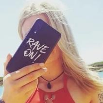 Rave On!® Phone case for Samsung Mobile Phone Case - Rave On!® the club & techno scene shop for cool young fashion streetwear style & fashion outfits + sexy festival 420 stuff
