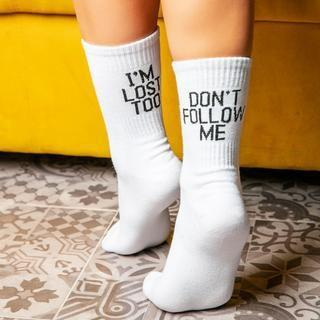 Don´t Follow Me Rave On! Socken Underwear - Rave On!® der Club & Techno Szene Shop für Coole Junge Mode Streetwear Style & Fashion Outfits + Sexy Festival 420 Stuff