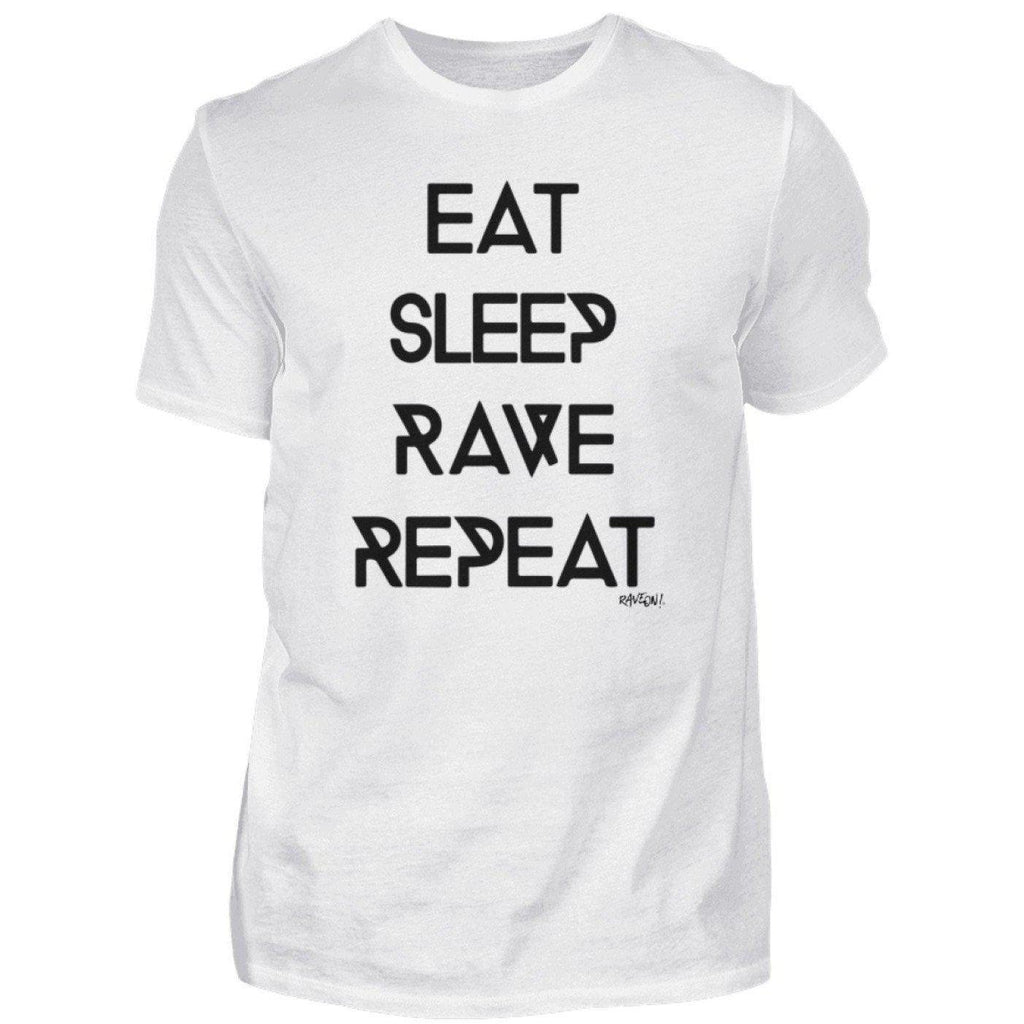Eat Sleep Rave Repeat Rave On!®  - Herren Shirt 21.95 Rave-On!  I WWW.RAVE-ON.SHOP