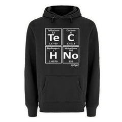 TECHNO ELEMENTS - RAVE ON!®  - Unisex Premium Kapuzenpullover