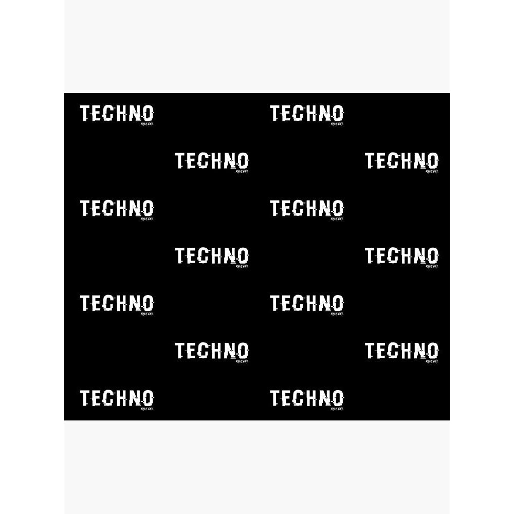 TECHNO Shifted Rave On!® Fleece blanket Home & Living - Rave On!® the club & techno scene shop for cool young fashion streetwear style & fashion outfits + sexy festival 420 stuff