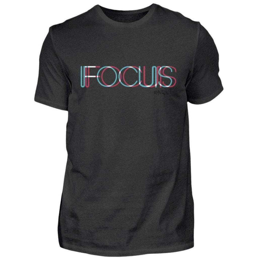 FOCUS trippy -Rave On!® - Herren Shirt-Herren Basic T-Shirt-Rave-On!