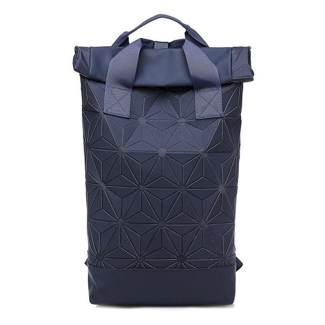 Holographic Geometric Luminous Backpack-Rave-On!
