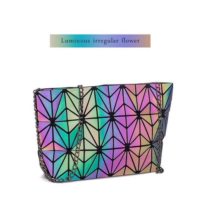 LUMI holographic shoulder bag - Rave On!® the club & techno scene shop for cool young fashion streetwear style & fashion outfits + sexy festival 420 stuff