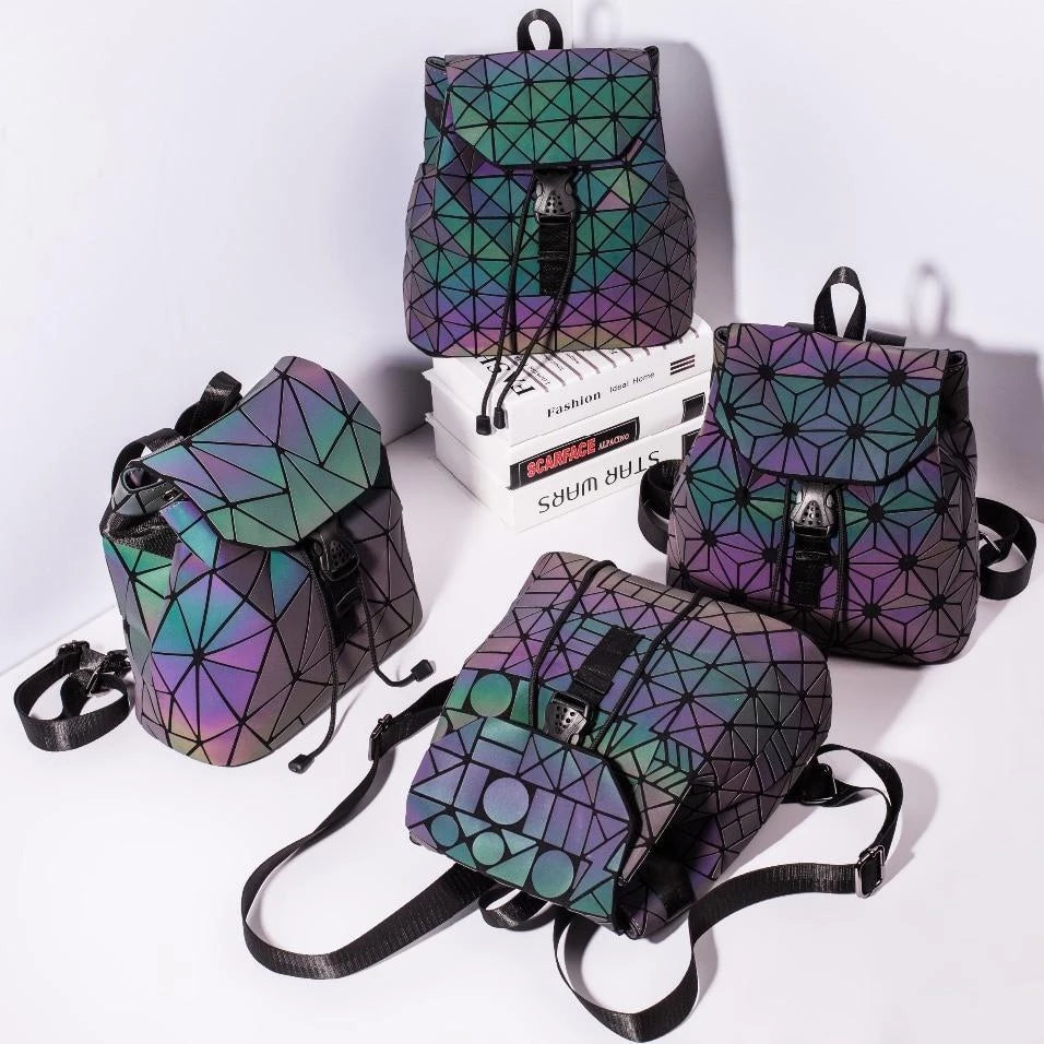 Holographische Mini Backpacks-Rave-On!-Rave-On!