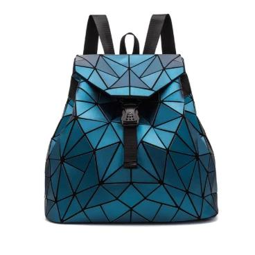 Holographische Mini Backpacks-Blue-Rave-On!-Rave-On!
