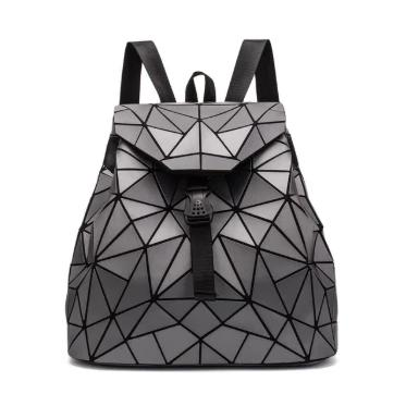 Holographische Mini Backpacks-Gray-Rave-On!-Rave-On!