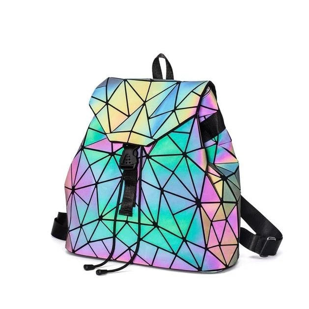Holographische Mini Backpacks 39.95 Rave-On!  I WWW.RAVE-ON.SHOP