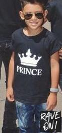 KING & QUEEN T-Shirts black prince shirt / S - Rave On!® the club & techno scene shop for cool young fashion streetwear style & fashion outfits + sexy festival 420 stuff