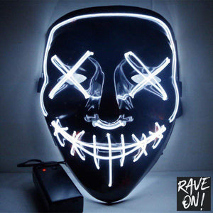 LED Grimassen Maske 19.95 Rave-On!  I WWW.RAVE-ON.SHOP