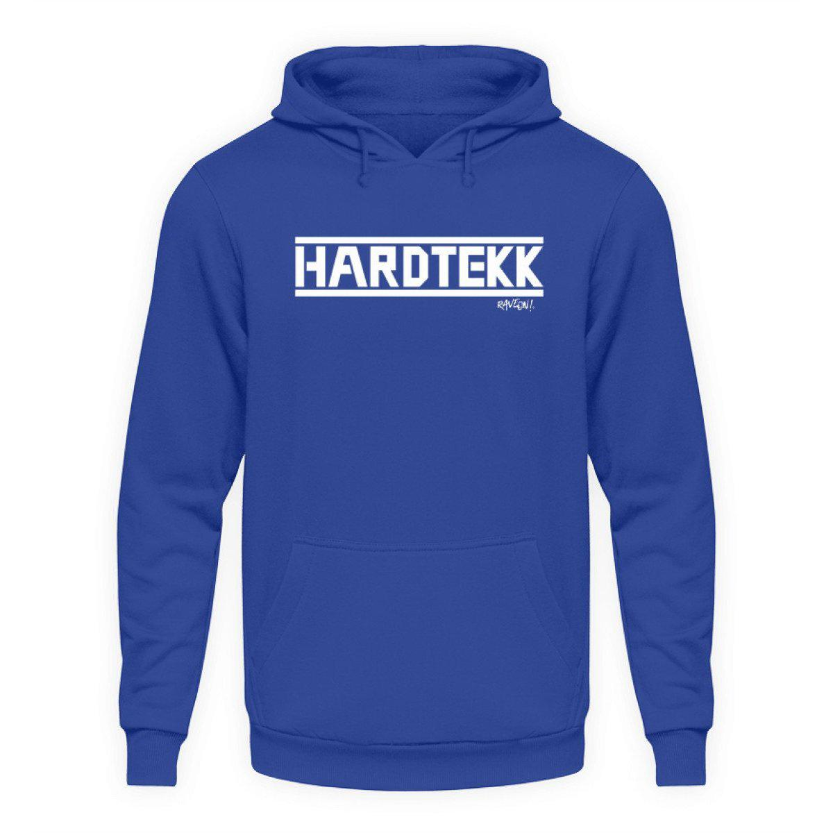 HARDTEKK - Rave On!® - Unisex Kapuzenpullover Hoodie Unisex Hoodie Royal Blue / L - Rave On!® der Club & Techno Szene Shop für Coole Junge Mode Streetwear Style & Fashion Outfits + Sexy Festival 420 Stuff