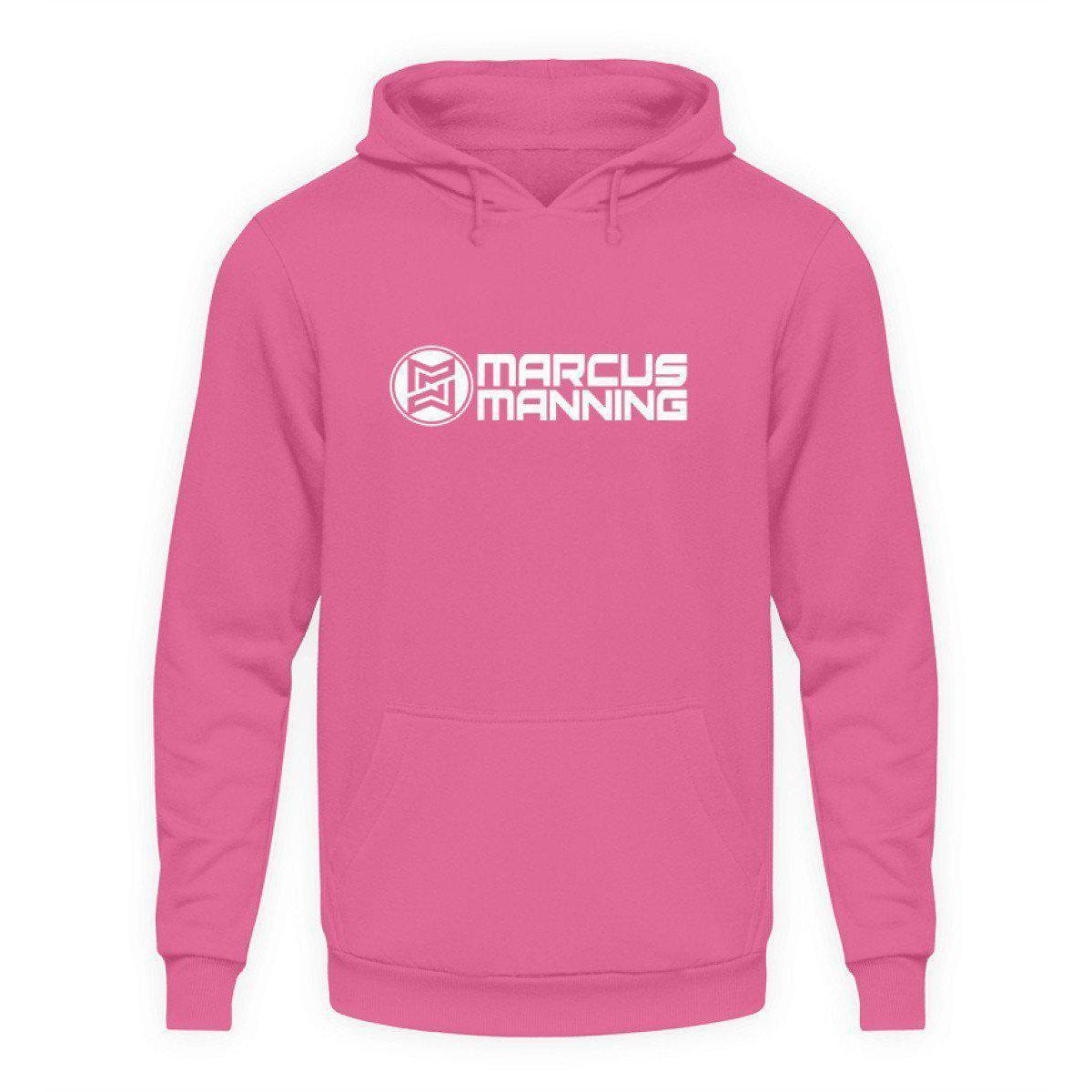 Marcus Manning Black Collection - Unisex Kapuzenpullover Hoodie Unisex Hoodie Helles Pink / L - Rave On!® der Club & Techno Szene Shop für Coole Junge Mode Streetwear Style & Fashion Outfits + Sexy Festival 420 Stuff