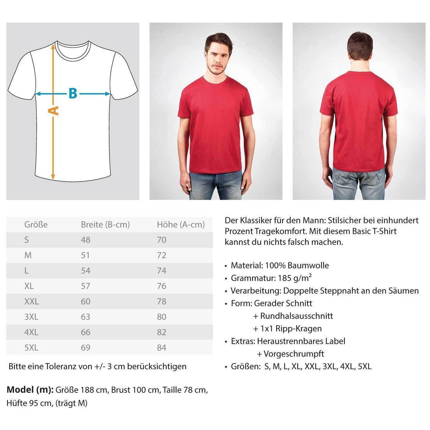 Marcus Manning Light Collection - Men's Shirt Men's Basic T-Shirt - Rave On!® the club & techno scene shop for cool young fashion streetwear style & fashion outfits + sexy festival 420 stuff
