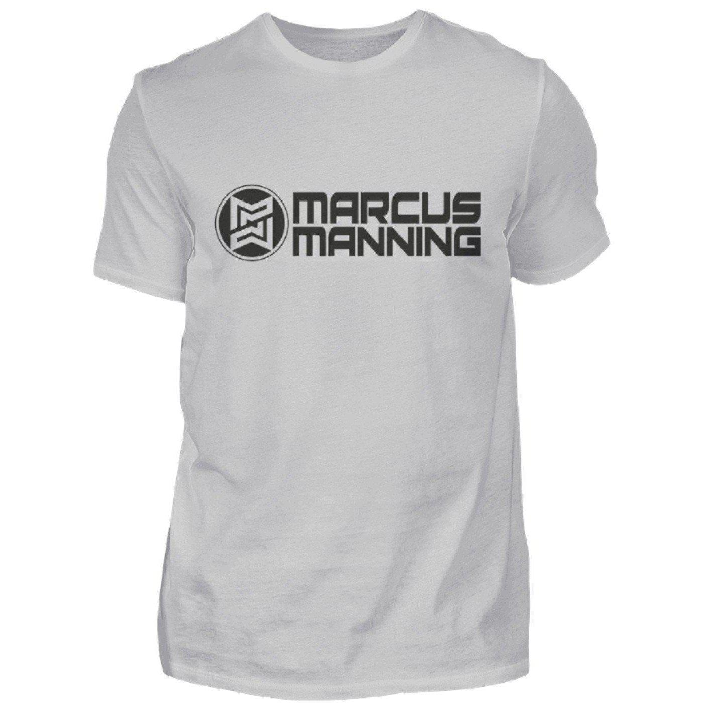 Marcus Manning Light Collection - Men's Shirt Men's Basic T-Shirt Pacific Gray / S - Rave On!® the club & techno scene shop for cool young fashion streetwear style & fashion outfits + sexy festival 420 stuff