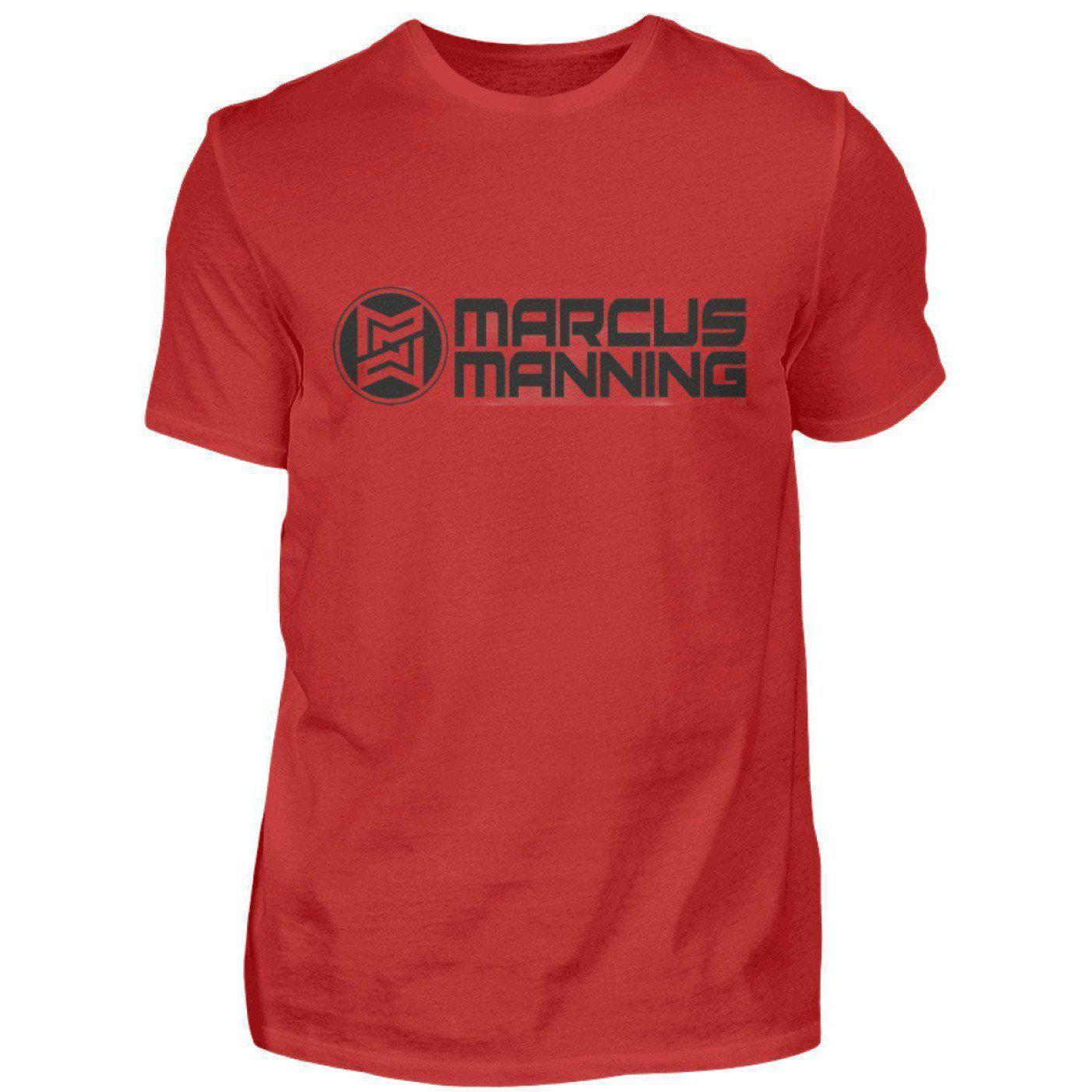 Marcus Manning Light Collection - Men's Shirt Men's Basic T-Shirt Red / S - Rave On!® the club & techno scene shop for cool young fashion streetwear style & fashion outfits + sexy festival 420 stuff