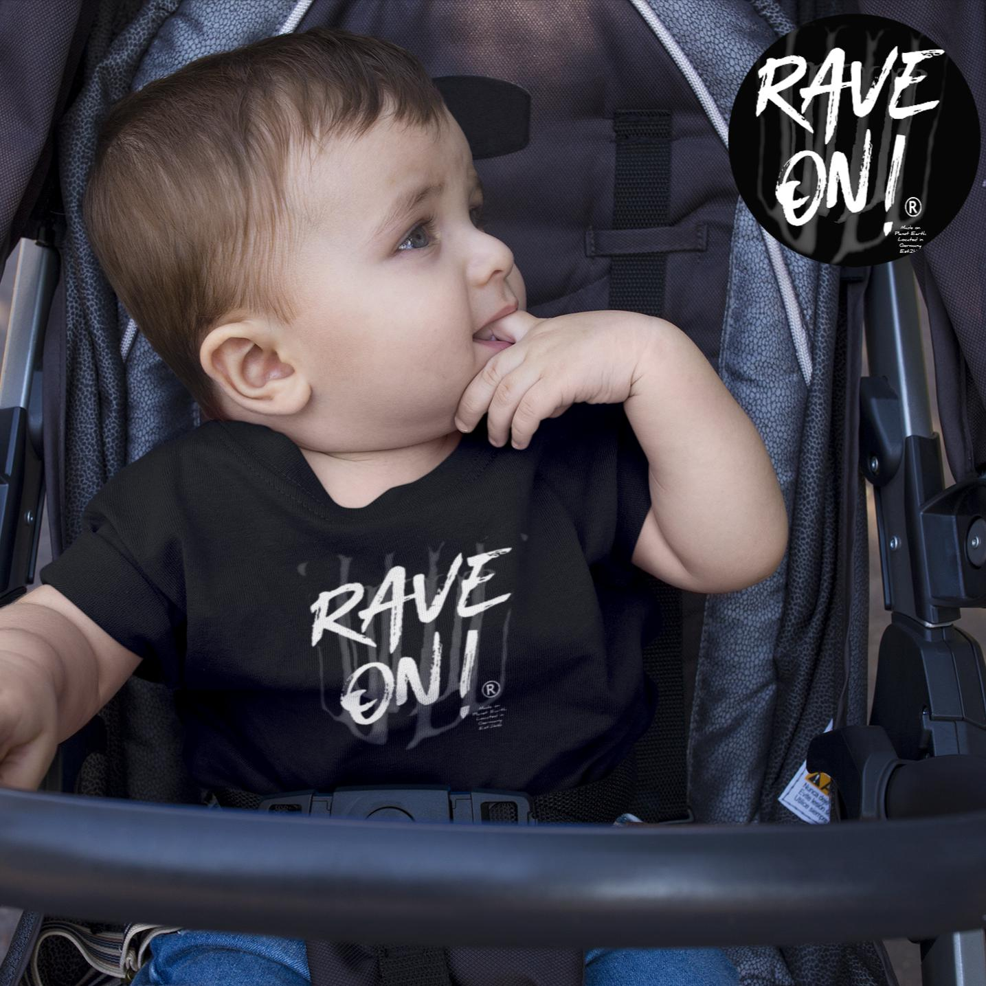 Rave On!® - B2k20 Baby Strampler - Baby Body Baby Strampler - Rave On!® der Club & Techno Szene Shop für Coole Junge Mode Streetwear Style & Fashion Outfits + Sexy Festival 420 Stuff