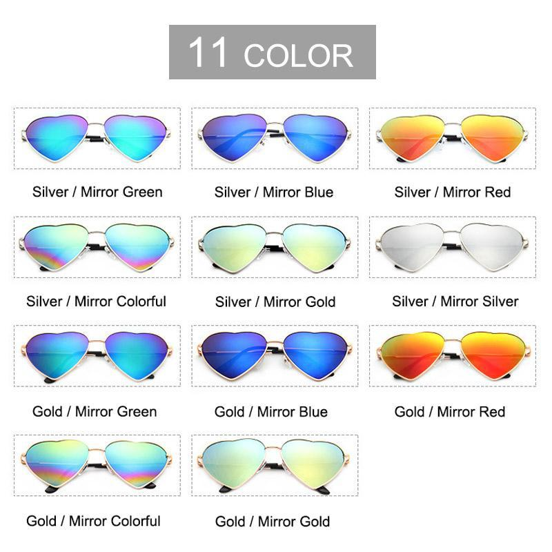 Retro Heart Frame Sunglasses Sonnenbrille - Rave On!® der Club & Techno Szene Shop für Coole Junge Mode Streetwear Style & Fashion Outfits + Sexy Festival 420 Stuff