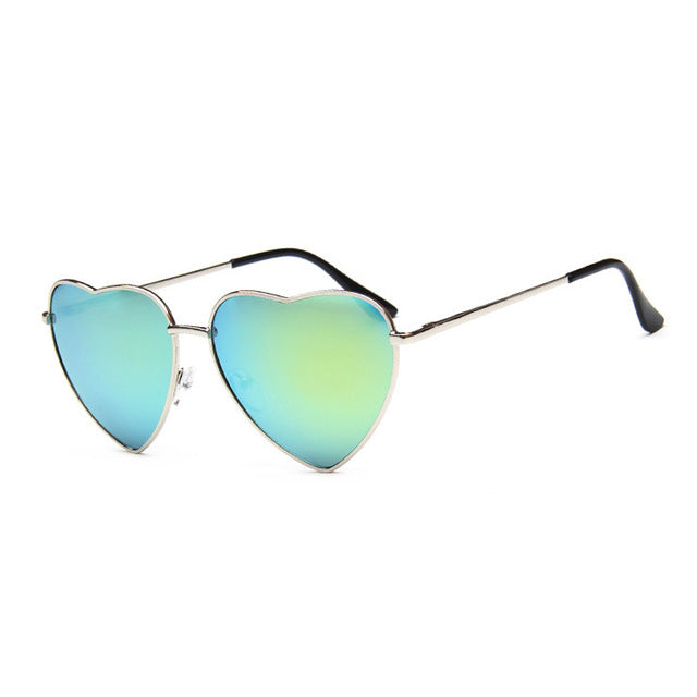 Retro Heart Frame Sunglasses Sonnenbrille 5 - Rave On!® der Club & Techno Szene Shop für Coole Junge Mode Streetwear Style & Fashion Outfits + Sexy Festival 420 Stuff
