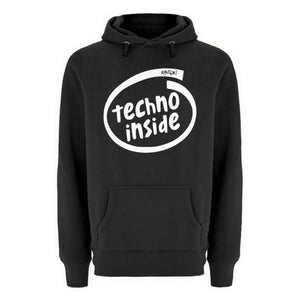 TECHNO INSIDE - Rave On!® - Unisex Premium Kapuzenpullover-Unisex Premium Hoodie-Black-S-Rave-On! I www.rave-on.shop I Deine Rave & Techno Szene Shop I Design - TECHNO INSIDE - Rave On!®, Inside, Intel, on, rave, rave clothes, Rave Clothing, rave fashion, rave gear, rave shop, rave wear, techno, techno apparel, techno meme, techno quote, techno shirt, techno wear - Sexy Festival Streetwear , Clubwear & Raver Style