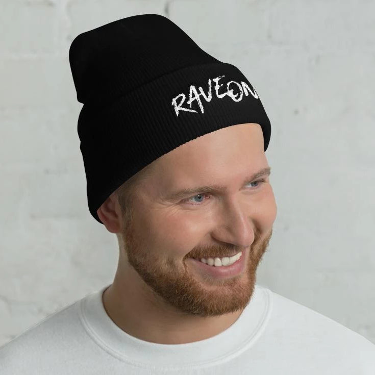 Rave On!® Beanie Mütze Black-Rave-On! I www.rave-on.shop I Deine Rave & Techno Szene Shop I apparel, i heart raves, mütze, on!®, rave, rave apparel, rave clothes, rave clothing, rave fashion, rave gear, rave on, Rave On!®, rave shop, rave t shirt, rave wear, raver, side by side, techno apparel, ® - Sexy Festival Streetwear , Clubwear & Raver Style