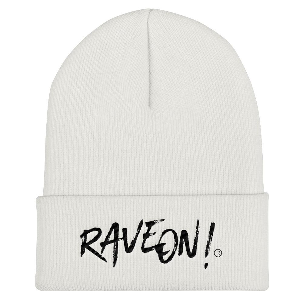 Rave On!® Beanie Mütze White-Rave-On! I www.rave-on.shop I Deine Rave & Techno Szene Shop I apparel, beanie, i heart raves, mütze, on!®, rave, rave apparel, rave clothes, rave clothing, rave fashion, rave gear, rave on, Rave On!®, rave shop, rave t shirt, rave wear, raver, side by side, techno apparel, weiss, ® - Sexy Festival Streetwear , Clubwear & Raver Style