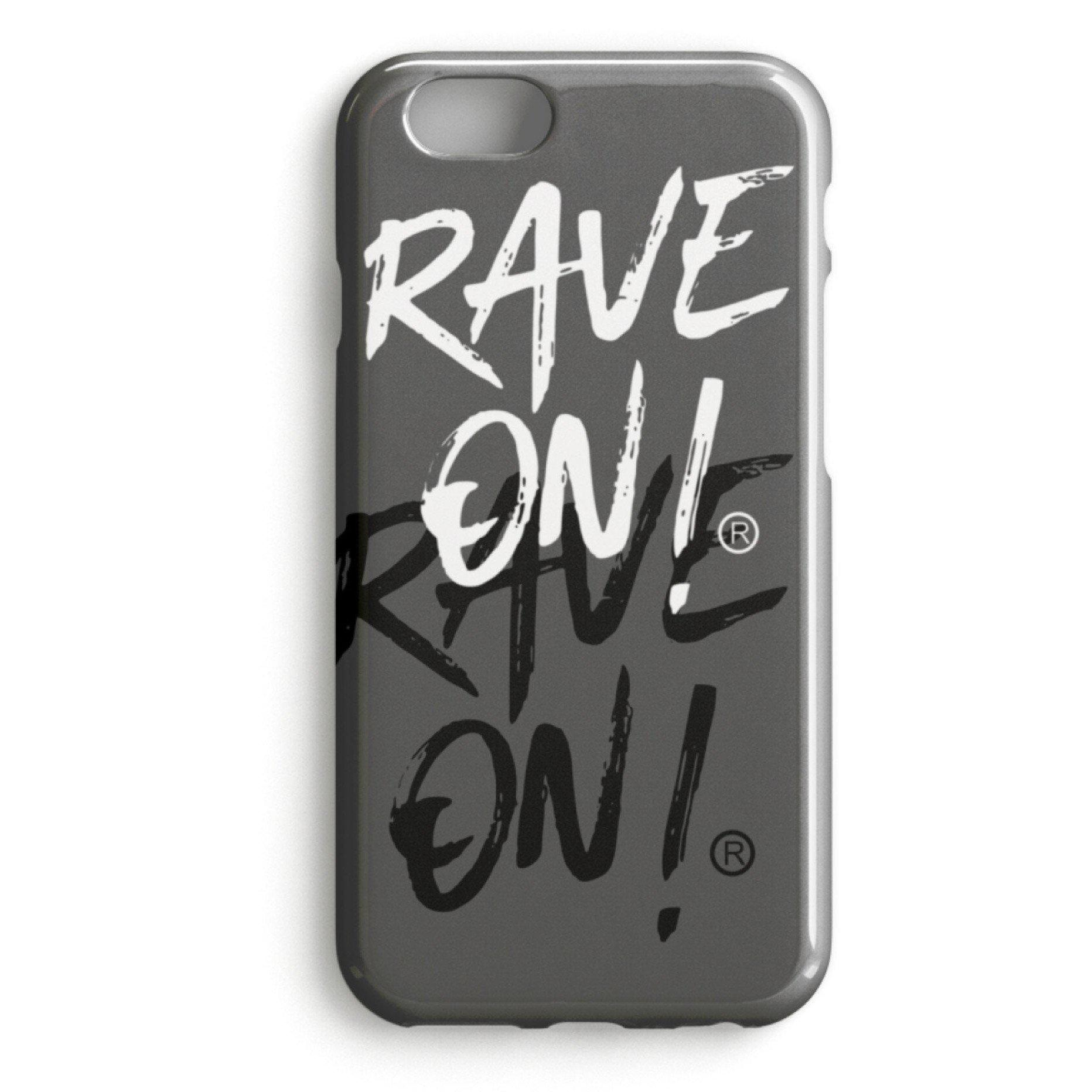 RAVE ON!® Iphone Cover Black Edition-iPhone Premium Case-Mausgrau-iPhone 7-Rave-On! I www.rave-on.shop I Deine Rave & Techno Szene Shop I apparel, brand, Case, i heart raves, iphone, marke, Merch, on, on!®, rave, rave apparel, rave clothes, rave clothing, rave fashion, rave gear, Rave on, Rave On!®, rave shop, rave wear, raver, samsung, Shop, techno, techno apparel, techno handyhülle, ® - Sexy Festival Streetwear , Clubwear & Raver Style
