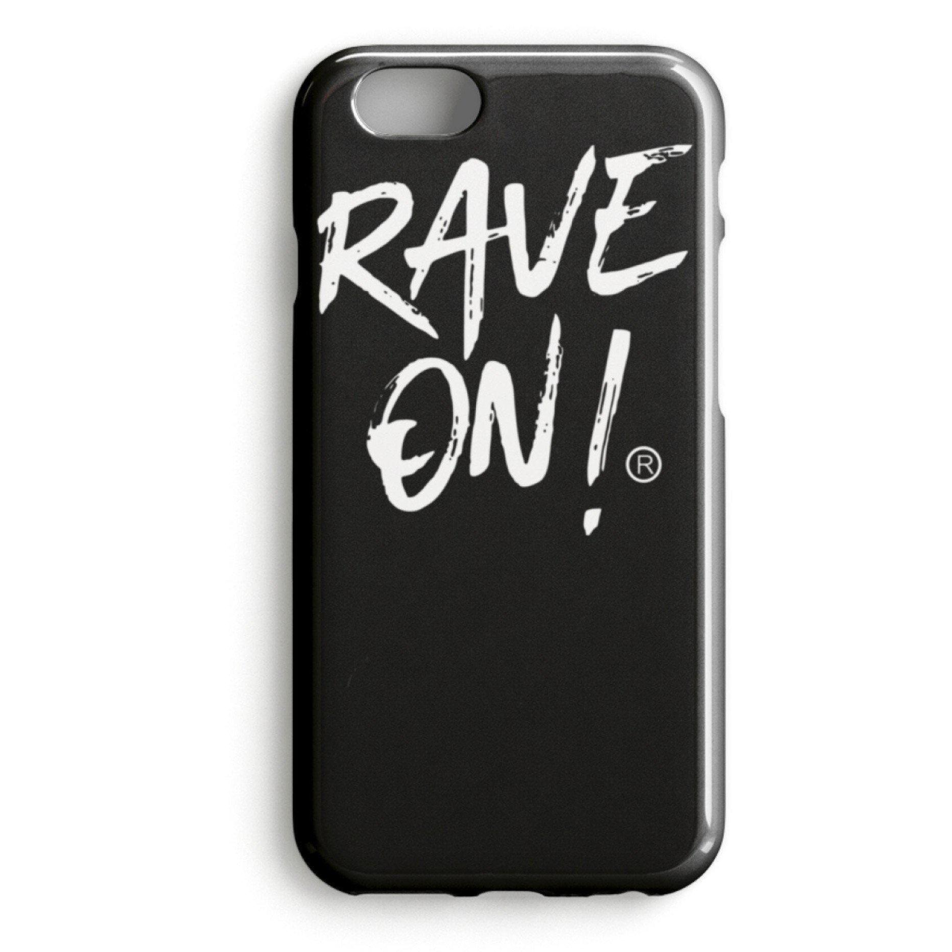 RAVE ON!® Iphone Cover Black Edition-iPhone Premium Case-Schwarz-iPhone 7-Rave-On! I www.rave-on.shop I Deine Rave & Techno Szene Shop I apparel, brand, Case, i heart raves, iphone, marke, Merch, on, on!®, rave, rave apparel, rave clothes, rave clothing, rave fashion, rave gear, Rave on, Rave On!®, rave shop, rave wear, raver, samsung, Shop, techno, techno apparel, techno handyhülle, ® - Sexy Festival Streetwear , Clubwear & Raver Style